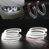 Angel Eyes Crystal Cover U-Shaped Bmw E90 far fara lupa